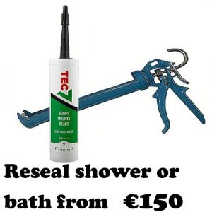 Reseal shower or bath from-1