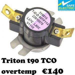 Triton t90 TCO overtemp-1