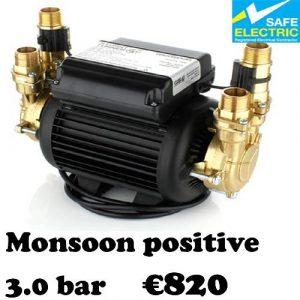 Monsoon positive 3.0 bar-1