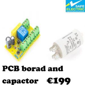 PCB borad and capactor-1