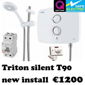 triton t90sr new installation